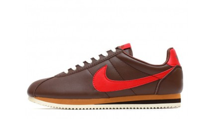 Nike Cortez Leather Brown Red