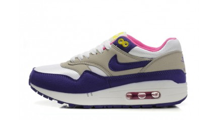Air Max 1 КРОССОВКИ ЖЕНСКИЕ<br/> NIKE AIR MAX 87 VIOLET GREY WHITE