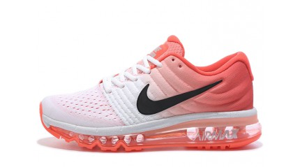 Air Max 2017 КРОССОВКИ ЖЕНСКИЕ<br/> NIKE AIR MAX 2017 PEACH ORANGE WHITE