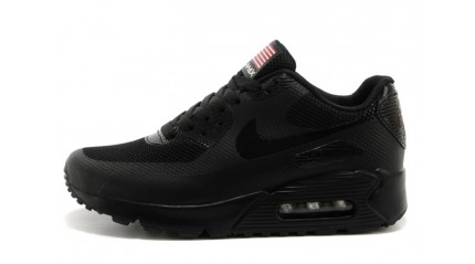 Air Max 90 КРОССОВКИ ЖЕНСКИЕ<br/> NIKE AIR MAX 90 HYPERFUSE DEEP BLACK