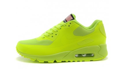Air Max 90 КРОССОВКИ МУЖСКИЕ<br/> NIKE AIR MAX 90 HYPERFUSE LEMON GREEN