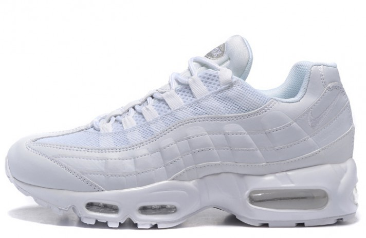 Кроссовки Nike Air Max 95 Pure White Leather Classic