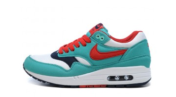 Кроссовки женские Nike Air Max 87 Juicy Mint White Red