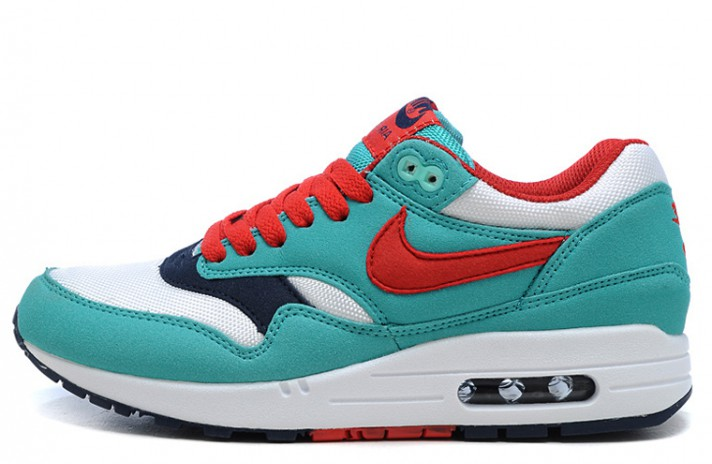 Кроссовки Nike Air Max 87 Juicy Mint White Red