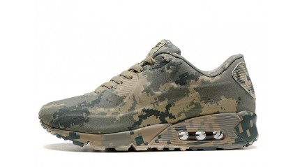 Air Max 90 КРОССОВКИ МУЖСКИЕ<br/> NIKE AIR MAX 90 VT MILITARY PIXEL GRAY