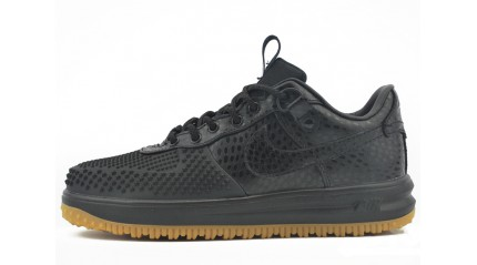Nike Lunar Force 1 DUCKBOOT Low Anthracite Black