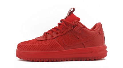 Nike Lunar Force 1 DUCKBOOT Low Red October