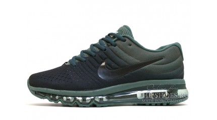 Air Max 2017 КРОССОВКИ МУЖСКИЕ<br/> NIKE AIR MAX 2017 BLACK PALM GREEN