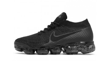 Кроссовки Мужские Nike Air VaporMax Flyknit Black​ Canyon