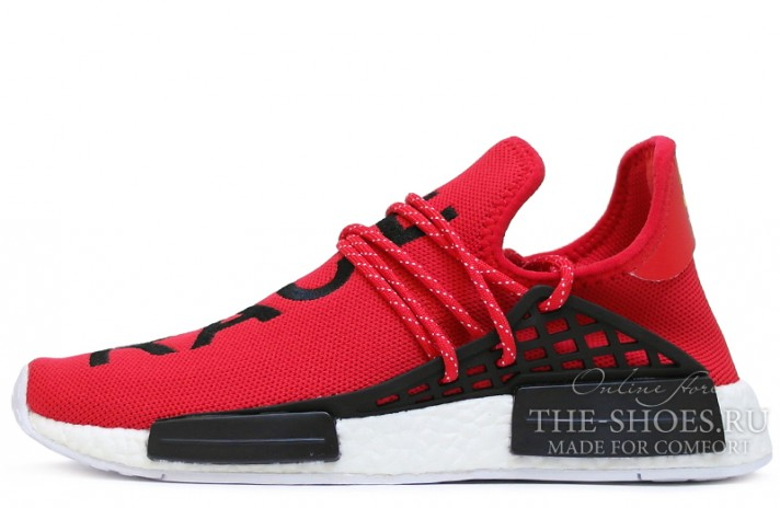 ADIDAS NMD Pharrell Williams Human Race Red красные
