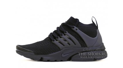 Nike Air Presto Ultra Flyknit Black Full