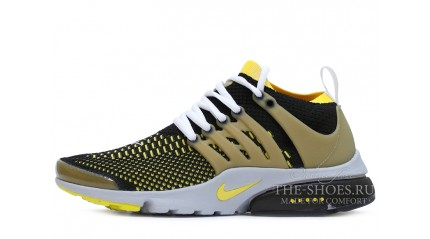 Air Presto КРОССОВКИ МУЖСКИЕ<br/> NIKE AIR PRESTO ULTRA YELLOW BLACK