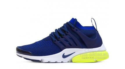 Nike Air Presto Ultra Flyknit Navy Blue White