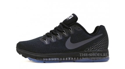 Zoom КРОССОВКИ МУЖСКИЕ<br/> NIKE AIR ZOOM ALL OUT LOW BLACK FULL