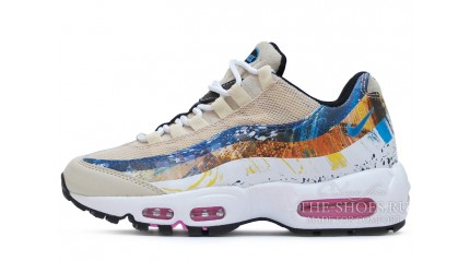 Nike Air Max 95 Dave White X Stone Thunder Light Bone