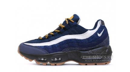Nike Air Max 95 Denim Blue and Gum