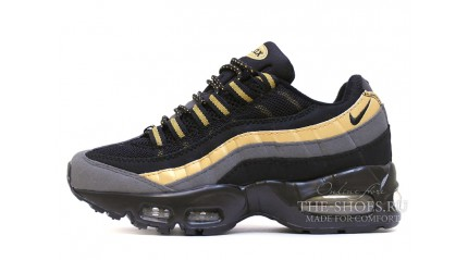 Nike Air Max 95 premium black metallic gold