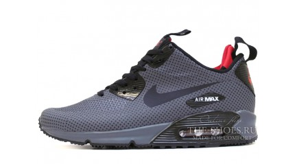 Air Max 90 КРОССОВКИ МУЖСКИЕ<br/> NIKE AIR MAX 90 MID GRAY ANTHRACITE