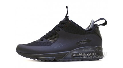 Air Max 90 КРОССОВКИ МУЖСКИЕ<br/> NIKE AIR MAX 90 MID BLACK STERN