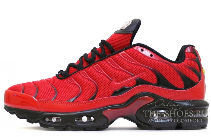 Купить Nike Air Max TN Plus Red Love Hate - красные c1393c49d38e7