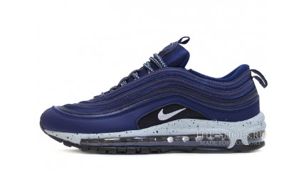 Air Max 97 КРОССОВКИ МУЖСКИЕ<br/> NIKE AIR MAX 97 FED-UP BLUE GRAY OREO