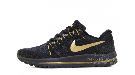 Zoom КРОССОВКИ МУЖСКИЕ<br/> NIKE AIR ZOOM VOMERO 12 BLACK GOLD