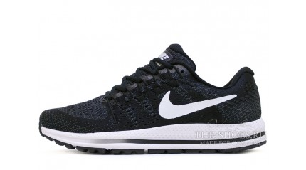 Zoom КРОССОВКИ МУЖСКИЕ<br/> NIKE AIR ZOOM VOMERO 12 BLACK WHITE