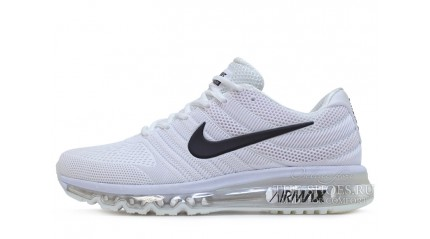 Air Max 2017 КРОССОВКИ МУЖСКИЕ<br/> NIKE AIR MAX 2017 KPU PURE WHITE