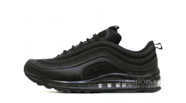 Nike Air Max 97 Black Top черные