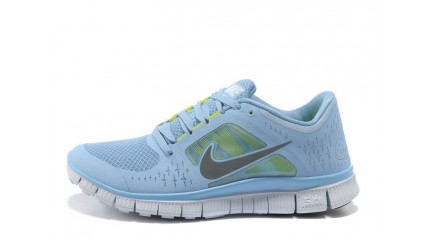 Nike Free Run 5.0 Baby Blue White