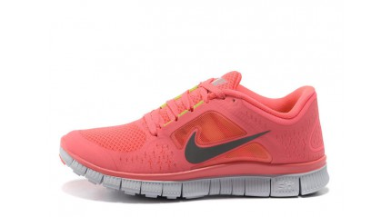 Nike Free Run 5.0 Red Carrot White