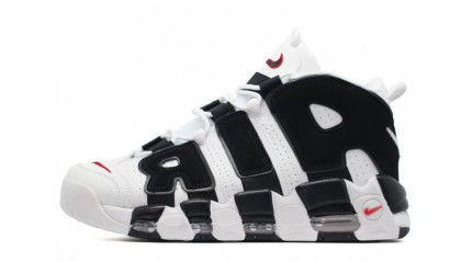 Nike Air More Uptempo 96 White Black
