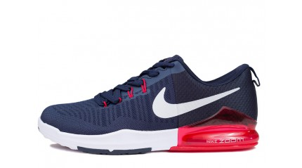 Zoom КРОССОВКИ МУЖСКИЕ<br/> NIKE AIR ZOOM TRAINING DARK BLUE RED