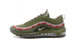 Nike Air Max 97 Undefeated x Green Militia зеленые