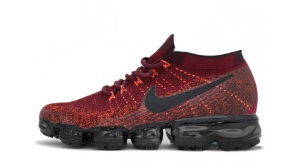 VaporMax КРОССОВКИ МУЖСКИЕ<br/> NIKE AIR VAPORMAX DARK TEAM RED BURGUNDY