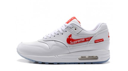 Nike Air Max 87 Supreme Louis Vuitton Custom White