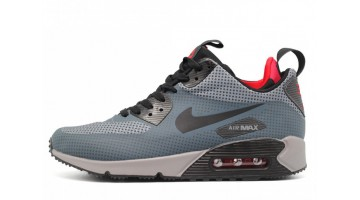 Кроссовки Мужские Nike Air Max 90 Mid Gray Anthracite