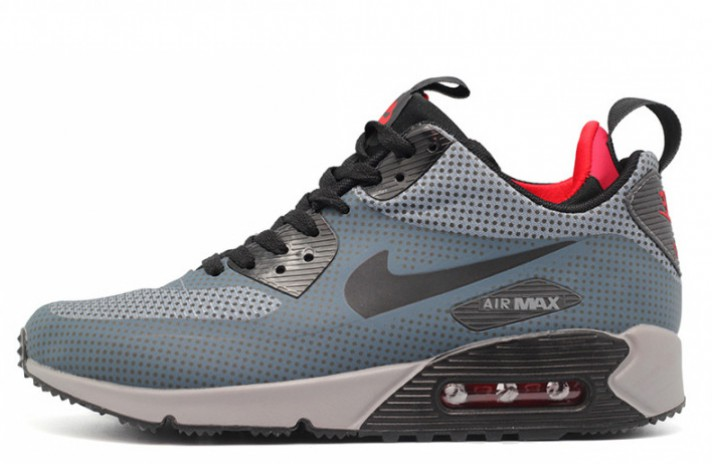 Кроссовки Nike Air Max 90 Mid Gray Anthracite