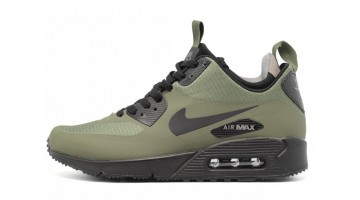 Кроссовки Мужские Nike Air Max 90 Mid Dark Loden Green Black