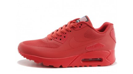 Air Max 90 КРОССОВКИ ЖЕНСКИЕ<br/> NIKE AIR MAX 90 HYPERFUSE SOLAR RED