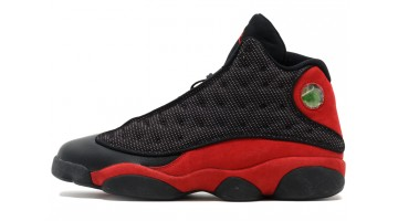 Кроссовки мужские Nike Air Jordan 13 Bred Black Varsity Red