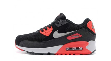 Air Max 90 КРОССОВКИ МУЖСКИЕ<br/> NIKE AIR MAX 90 ESSENTIAL BLACK RED