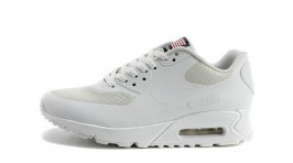 Nike Air Max 90 Hyperfuse (HYP) Pure White белые