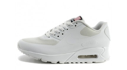 Air Max 90 КРОССОВКИ МУЖСКИЕ<br/> NIKE AIR MAX 90 HYPERFUSE PURE WHITE