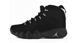 Nike Air Jordan 9 (IX) Anthracite Black черные
