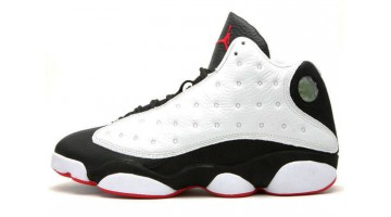 Кроссовки мужские Nike Air Jordan 13 He Got Game White Black