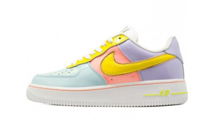 Nike Air Force 1 Low Easter Egg Color Storm