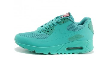 Кроссовки женские Nike Air Max 90 Hyperfuse Turquoise Mint