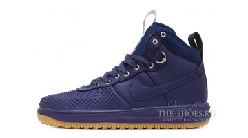 Кроссовки Мужские Nike Lunar Force 1 DUCKBOOT Dark Obsidian