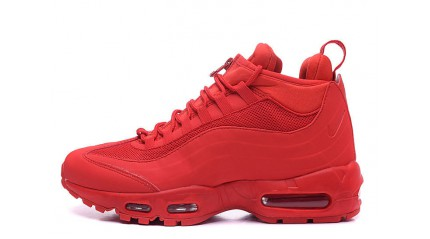 Air Max 95 КРОССОВКИ МУЖСКИЕ<br/> NIKE AIR MAX 95 SNEAKERBOOT UNIVERSITY RED
